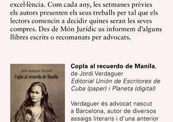 Articulo en la Revista Món Jurídic